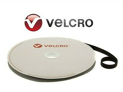 VELCRO® BRAND ONE WRAP 16mm HOOK AND LOOP VARIOUS LENGTHS STRAPPING BLACK
