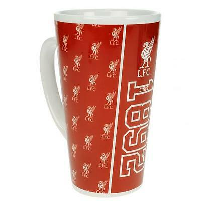 Liverpool F.C. Latte Mug Brand New Official Licensed Product