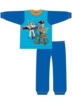 Boys New Toy Story Woody Buzz Official Pyjama Set 12-18-24 Months 2 3 4 Years