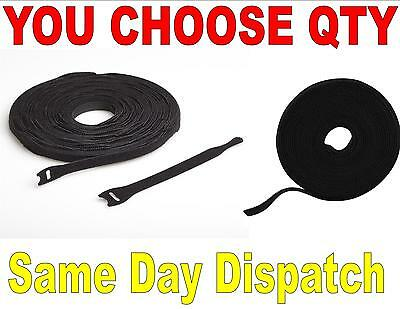 Velcro® Brand Cable Ties 200Mm 300Mm Reusable Hook & Loop Cable Tidy
