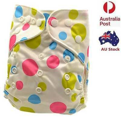 New Reusable Modern Baby Cloth Nappies  All Size Diapers Print Design (D132)