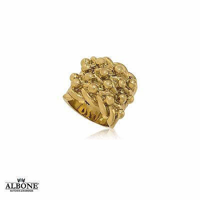 9ct Yellow Gold Keeper Ring 37.3g