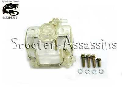 OKO SPARE PARTS, CARB CLEAR BOWL+ GASKET for PWK 30mm SCTZ