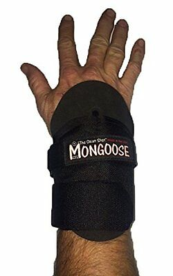 "Mongoose ""Clean Shot"" Bowling wrist support Small Black"