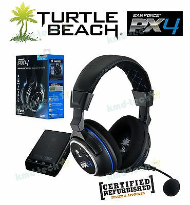 Turtle Beach Earforce Px4 Wireless Dolby Surround Gaming Headset Ps4 Ps3 Rrp$199