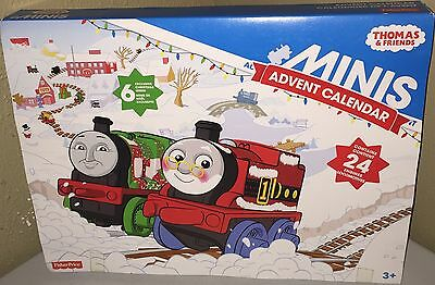 *BRAND NEW* Thomas & Friends Train Minis Christmas Advent Calendar Fisher Price