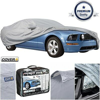 Cover+ Waterproof & Breathable Outdoor Full Car Cover for Jaguar X-Type Estate