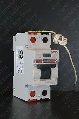 MEM Memshield 2 40A 30mA RCD RCCB Circuit Breaker AM40HE - Tested - NEW