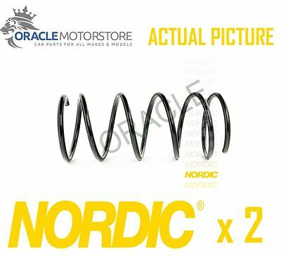 2 x NEW NORDIC FRONT COIL SPRING PAIR SPRINGS OE QUALITY REPLACEMENT - CS151036