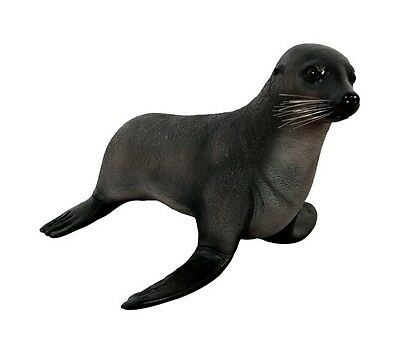 Seal Statue Life Size Baby Sea Lion Fur Prop Display New