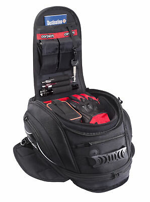 Cortech Motorcycle Gear Super 2.0 12-Liter Tank Bag - Magnetic (8230-0505-12)