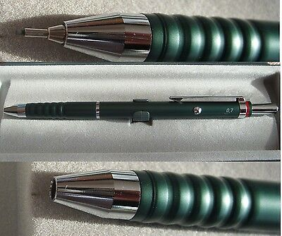 Rotring Esprit double push  pencil 0.7 mm tourmaline green