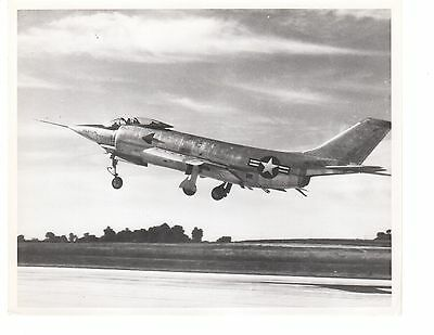 McDonnell Demon F3H1 Navy Fighter Aircraft Official Photo 8x10 1953