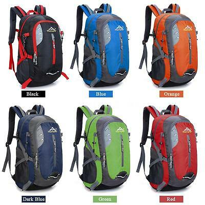 35L Outdoor Hiking Backpack Large Capacity Lightweight Waterproof Daypack N5A5