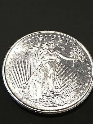 Classic Walking Liberty & Eagle Collectible Coin 1 Troy Ounce .999 Fine Silver