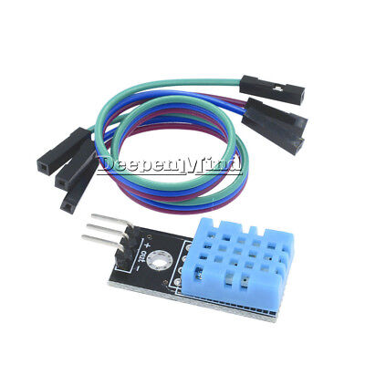 DHT11 Digital Temperature and Relative Humidity Sensor  Module for Arduino