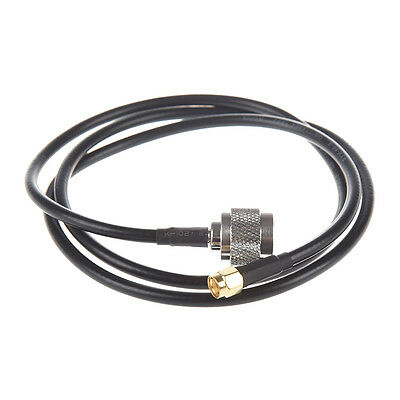 Cable Pigtail Antena Conector N Macho a RP-SMA Macho 1M T5