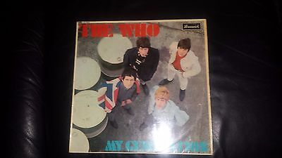 "THE WHO 1st UK ALBUM ""MY GENERATION"" BRUNSWICK MONO LAT8616 M-"