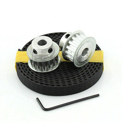 2pcs XL Timing Pulley 15 Teeth + 10mm Width 1/5'' Pitch XL037 Belt Open End CNC