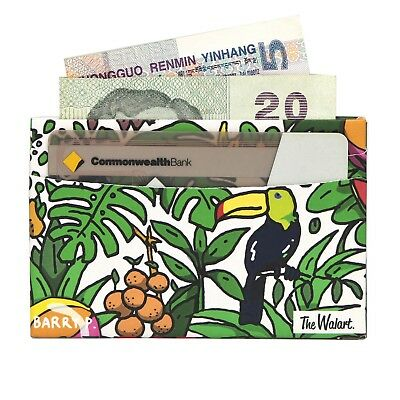 The Rainforest Magic Card Paper Wallet - The Walart - Mighty Tyvek Dynomighty