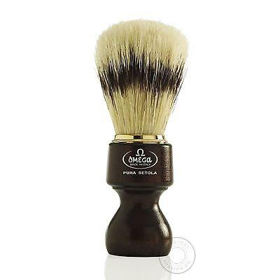 Omega 11126 Pure Bristle Shaving Brush