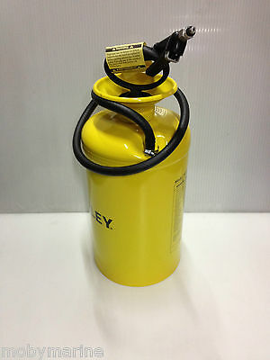 Outboard & Sterndrive Gearbox Pressure Oil Filler 7 Litre Metal Container