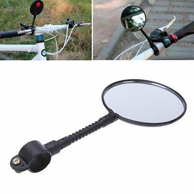 Black Adjustable Rearview Rear View Mirror For Bicycle Cycle Road Bike Handlebar