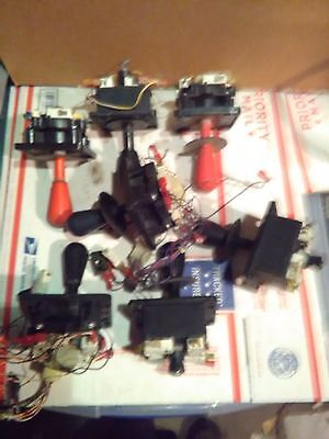 arcade joystick and button lot #22