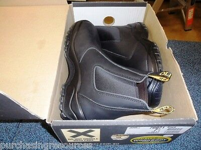 Oliver Elastic Sided Safety Work Boots Size 7.5