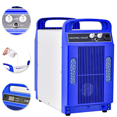 CW-3000DG 110V Thermolysis Industrial Water Chiller for 60/80W CO2 glass tube