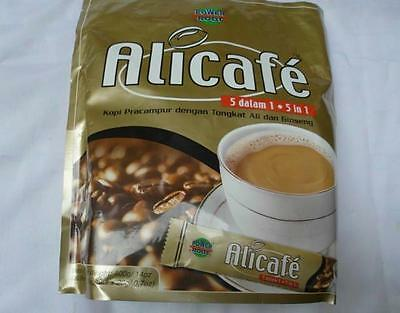 Alicafe 5 in 1 Premix Coffee Tongkat Ali and Ginseng 20 Satchets x 20g Halal