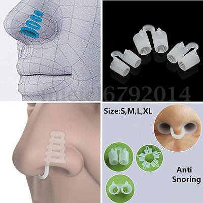 New Style Anti Snore Stop Snoring Nasal Dilators Night Sleeping Aid Nose Clips
