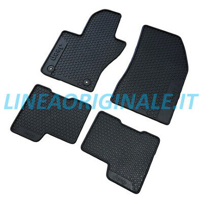 Tappeti 4pz ORIGINALI Jeep Renegade set tappetini in gomma pulizia new 82214194