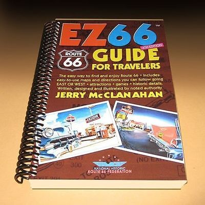 EZ66 Guide for Travelers NEW UPDATED 4th Edition by Jerry McClanahan RT ROUTE 66