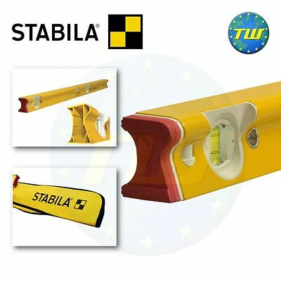 Stabila 48in R-Type Professional Spirit Level with Padded Carry Bag 120cm 1200mm