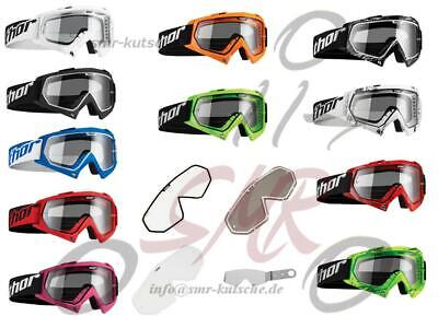 Thor MX Brille Kinder Enemy Solid Motocross Goggle Enduro Cross MX MTB Supermoto