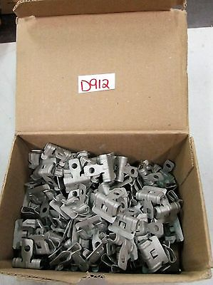 "Erico Flange Clamp (Beam Clamp) #2H24 For 1/8"" to 1/4"" Flange Box of 100 (NIB)"