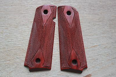 COLT 1911 FULL SIZE KIMBER SPRINGFIELD TAURUS RUGER WOOD GRIPS # Random 2