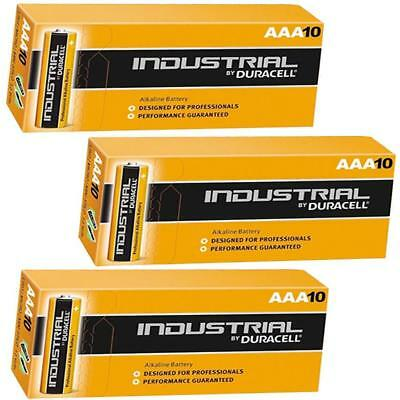 30 Duracell Procell Industrial Aaa Alkaline Batteries Lr03, Mn2400 Exp.2022