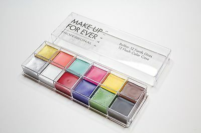 MAKE UP FOR EVER 12 Flash Color Case -essential for makeup artist- SHIP OUT FAST