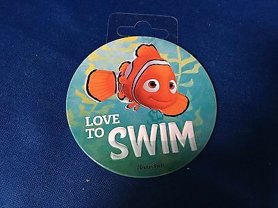 "Finding Dory - Nemo - Love to Swim 3"" Magnet - Disney Pixar"