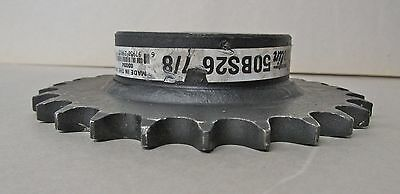 Martin Sprocket - 50Bs26 - 7/8 Inch - Bored To Size (*New*)
