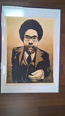 Shepard Fairey - cornel west print - Limited to 450 - signed & numbered - Obey