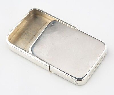 Vintage Sterling Silver R. Blackinton & Co Pill Box Great Condition! #3008