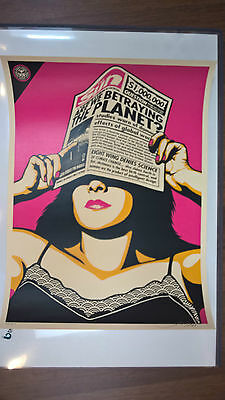 Shepard Fairey - global warming - Ltd. to 450 - signed & numbered