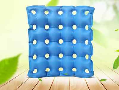 Medical air inflatable waffle PVC seat cushion HEMORRHOIDS for office wheelchair