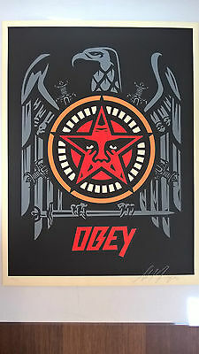 Shepard Fairey - slayer eagle - Limited to 350 - signed & numbered - Obey