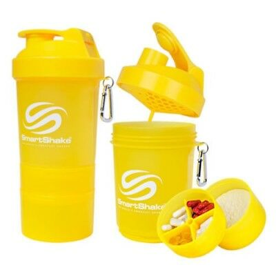 Neon Yellow 20 Oz Smartshake Shaker Neon Series Bottle Cup