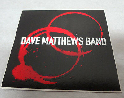 dave matthews band sticker dmb rock music rare htf collectible