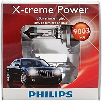 2x Philips 9003 H4 Super Extra Bright Upgrade Headlight Light Bulb 67W GERMANY